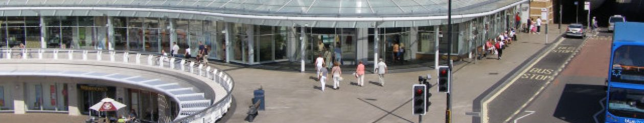 UK shopping centres guide